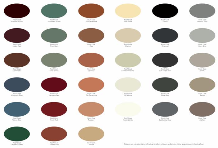 roof-coat-membrane-colour-chart